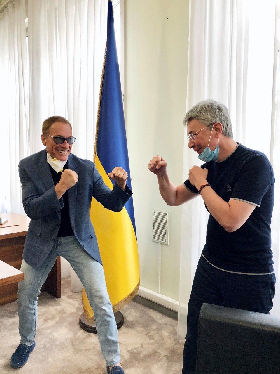 Netflix знімає перший фільм в Україні з Жан-Клод Ван Даммом у головній ролі