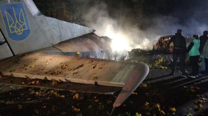 В Україні розбився літак. 22 людини загинуло