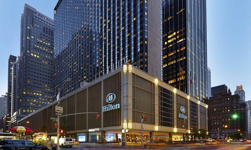 На Манхеттені закривається готель Hilton Times Square