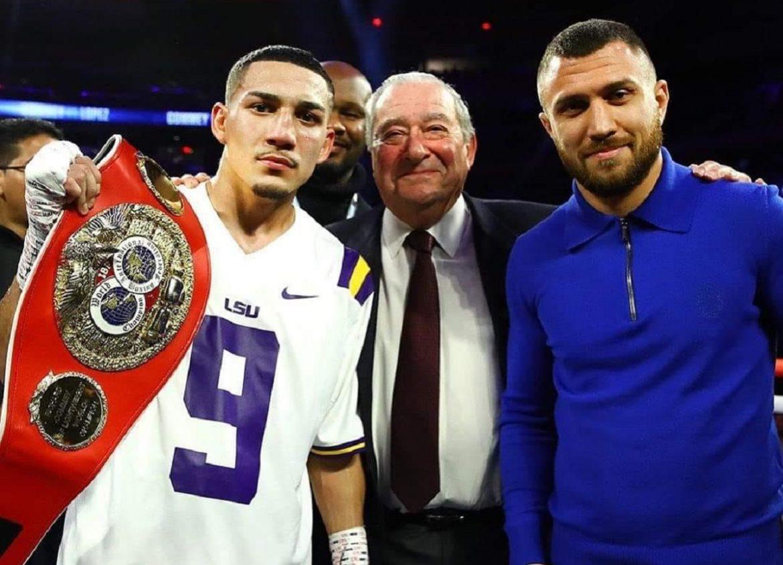 Український боксер змагатиметься з американцем за звання абсолютного чемпіона світу