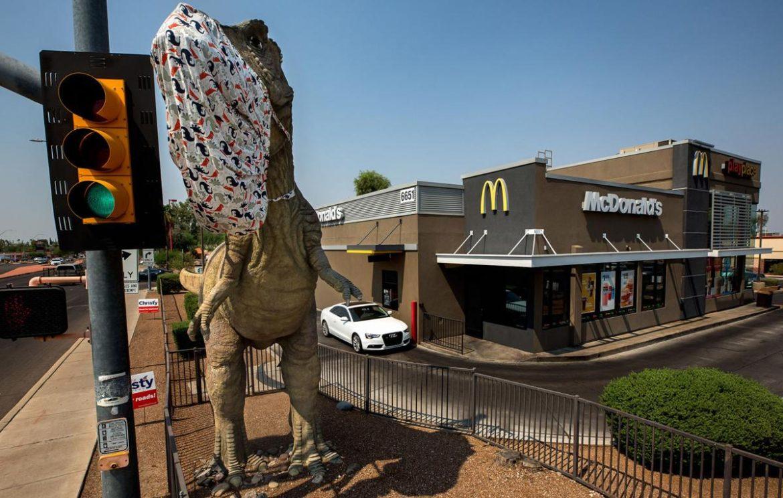 В Америці просять знести пам'ятник динозавру через образу релігійних почуттів