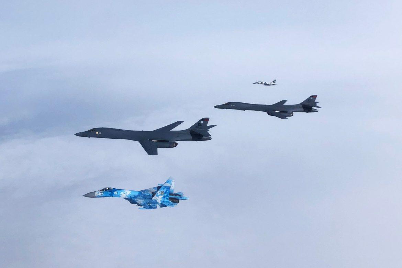 Військові літаки США вперше увійшли в повітряний простір України