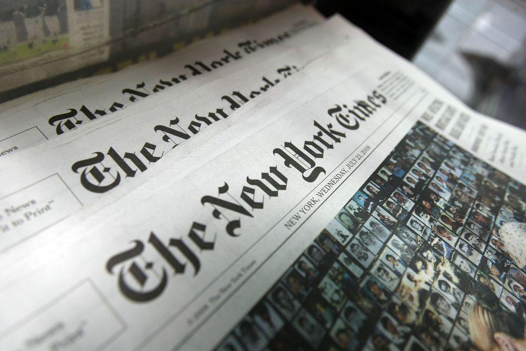 The New York Times вперше за 80 років вийшла без телепрограми
