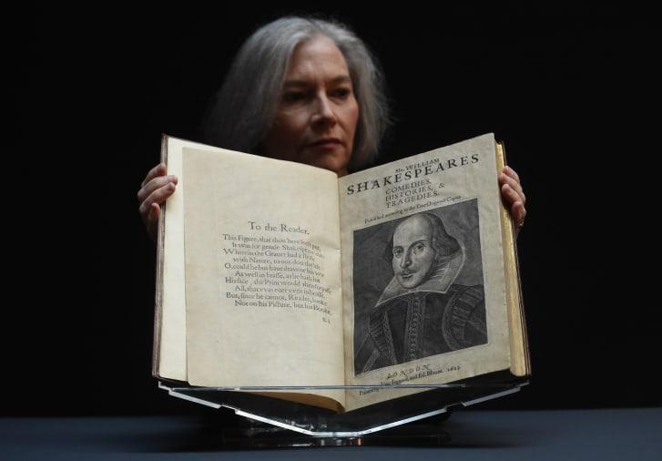 У США продали перший збірник Шекспіра майже за $10 мільйонів