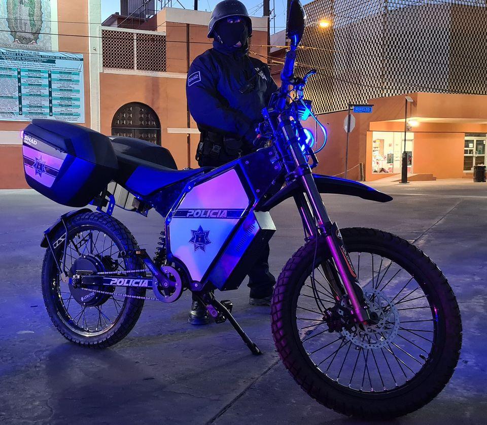Поліція Мексики пересіла на українські електробайки