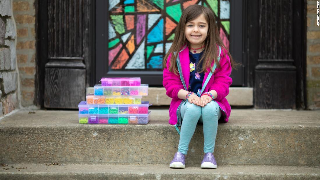 7-річна дівчинка зібрала $20 000 для лікарні у Чикаго