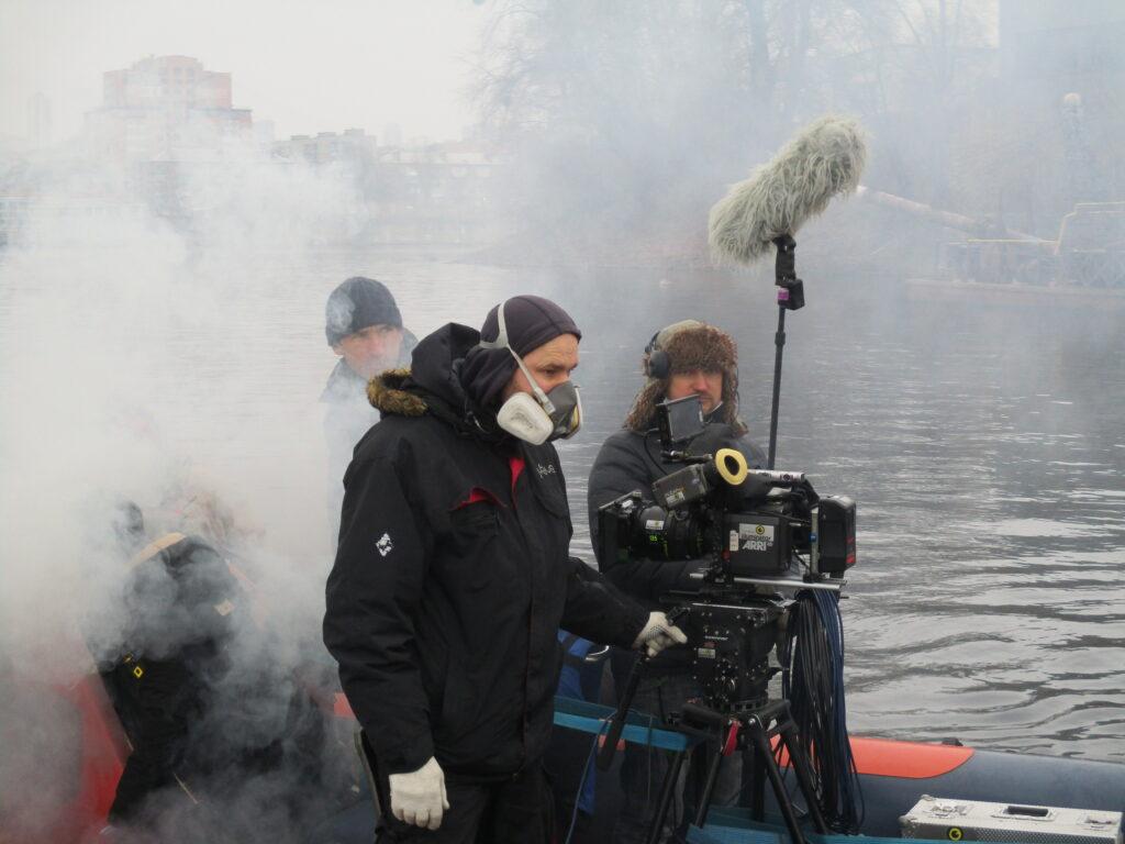Голлівудський режисер знімає фільм в Україні