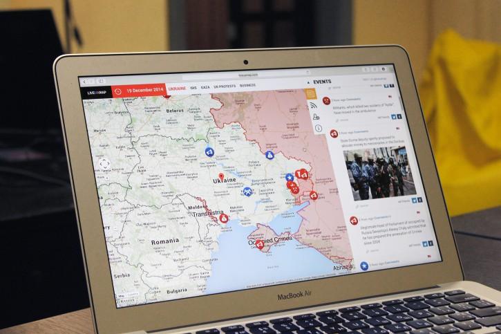 Українці створили мапу, яка розповідає про війни та протести в усьому світі