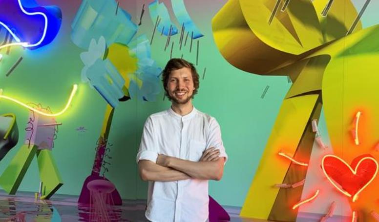 Український художник потрапив до рейтингу найбільш інноваційних митців світу