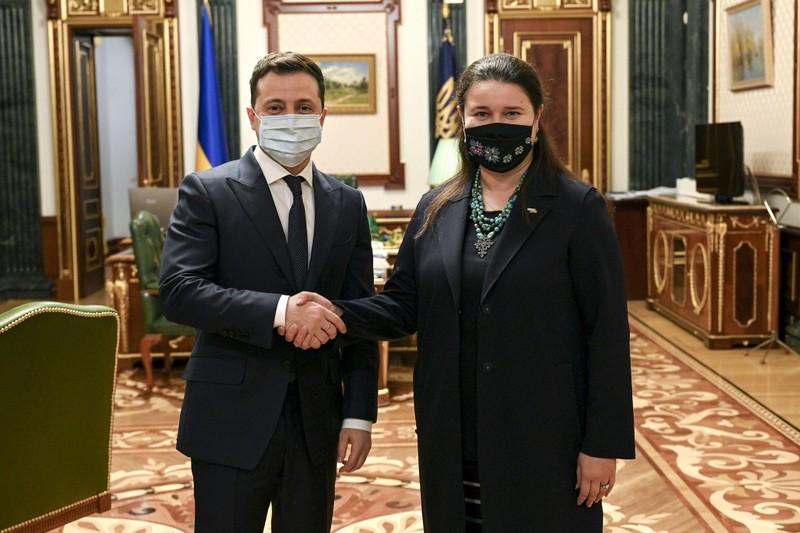 Зеленський призначив посла України у США