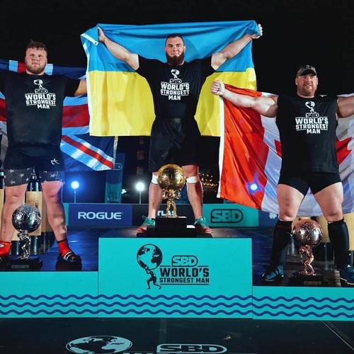 Українець переміг на турнірі World's Ultimate Strongman