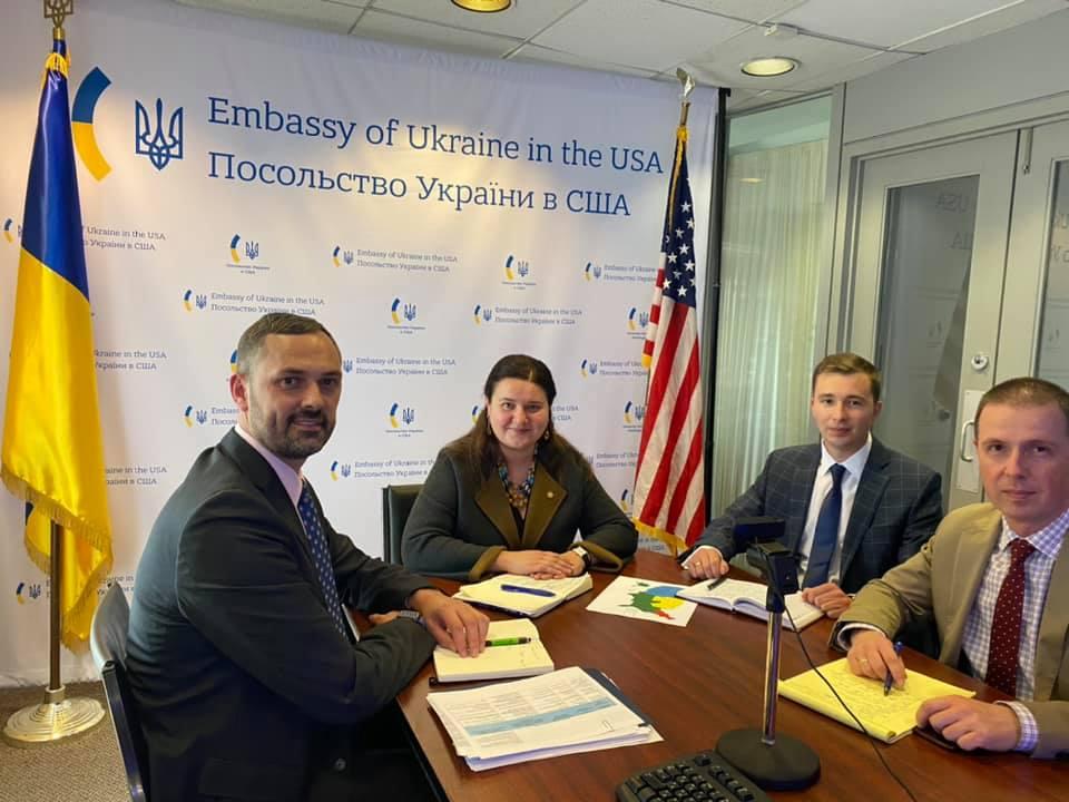 Посол України в США провела першу зустріч з генконсулами України в США