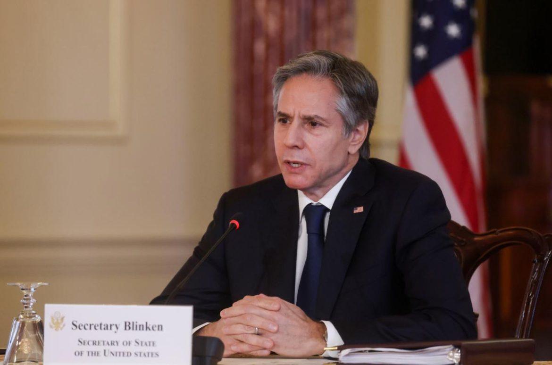 Зеленський зустрівся із держсекретарем  США