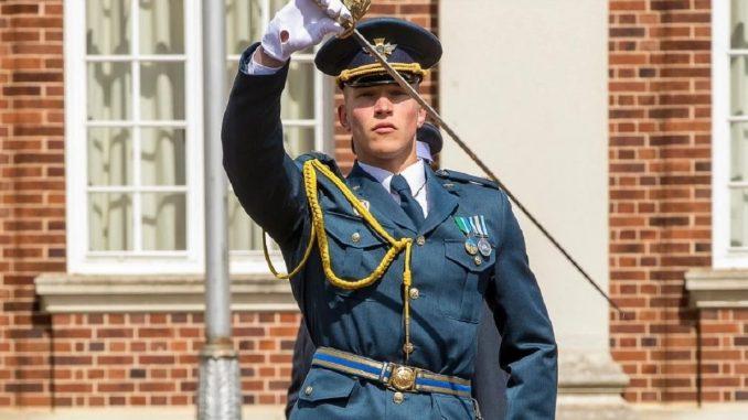 Курсант з України здобув відзнаку у британському коледжі Королівських ВПС