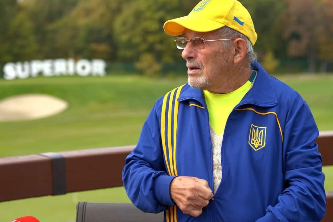 Українця визнано найстаршим тенісистом на планеті, який бере участь у змаганнях у віковій категорії 90+