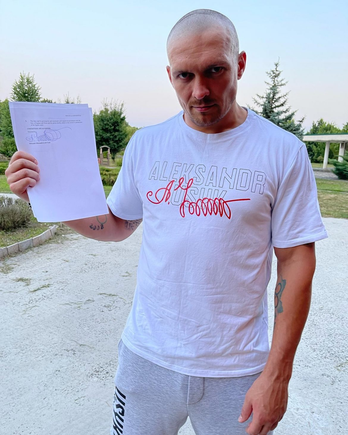 Український  боксер анонсував дату бою з британцем
