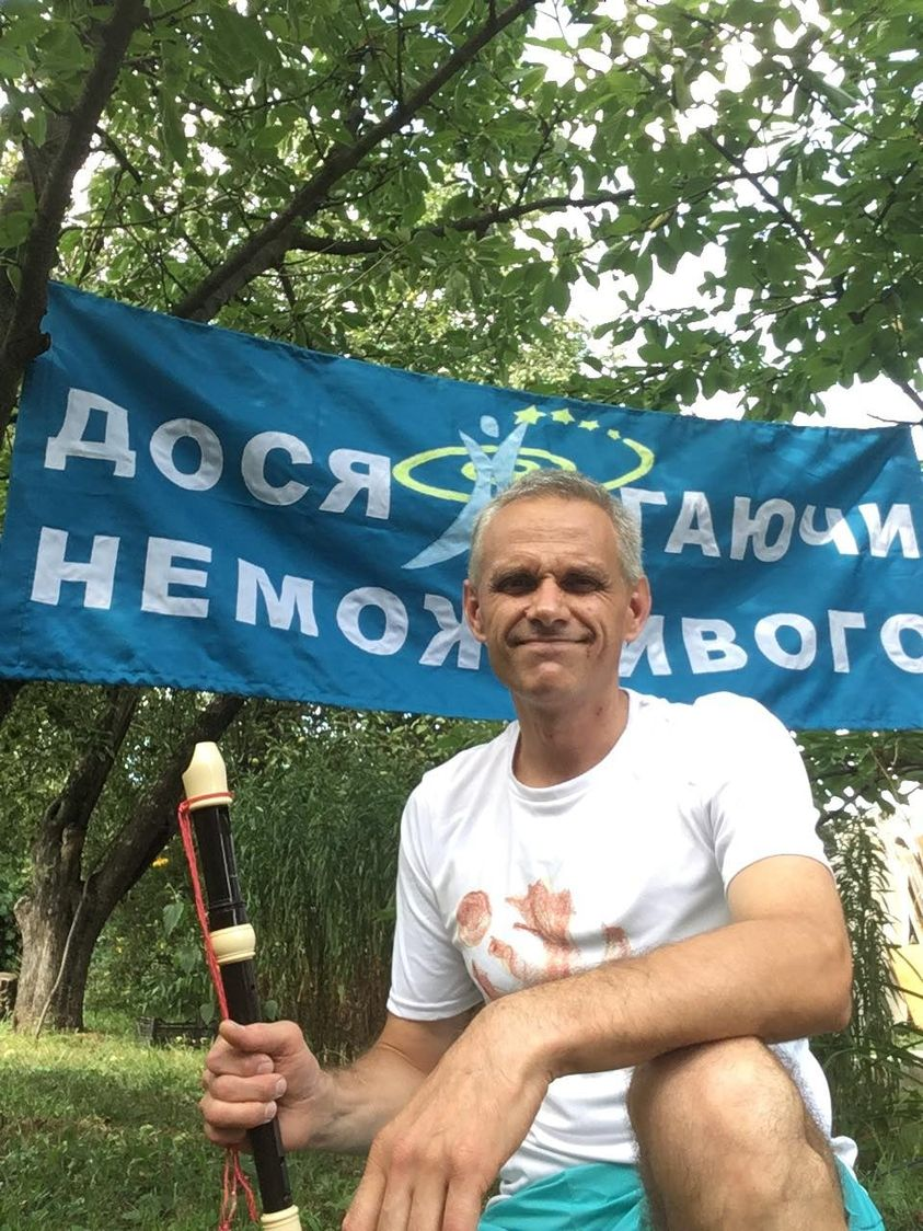 Українець встановив рекорд, здійснивши заплив на спині він грав на флейті