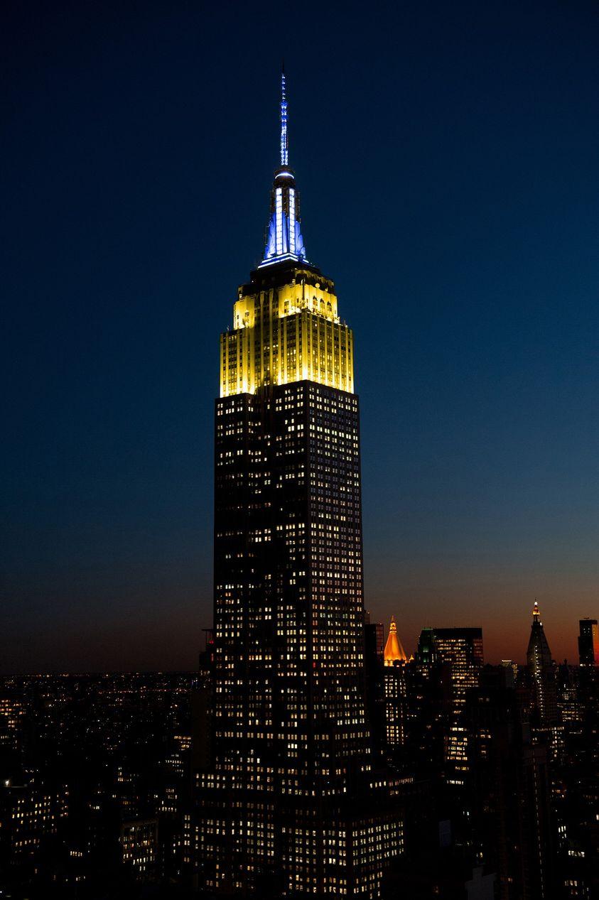 Один із символів Нью-Йорка засяяв кольорами національних прапорів країн-учасниць Токійської Олімпіади