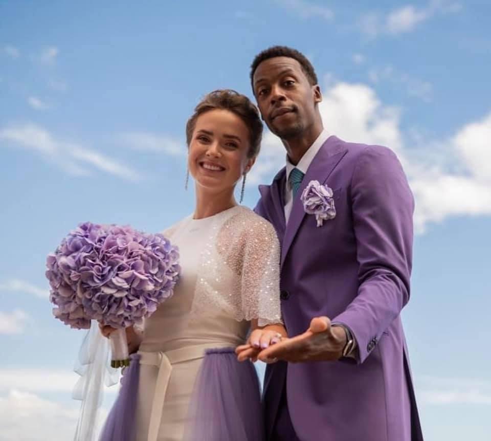 Українська тенісистка вийшла заміж за свого колегу (Фото)