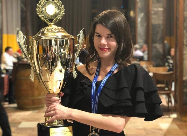 Українка стала віце-чемпіонкою Європи з шахів