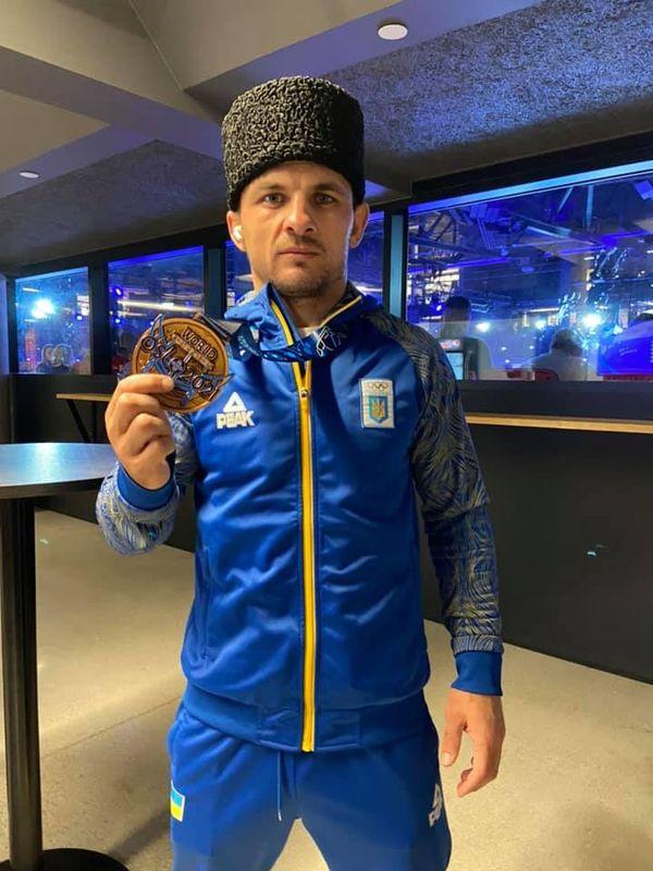 Українець завоював медаль на чемпіонаті світу з боротьби
