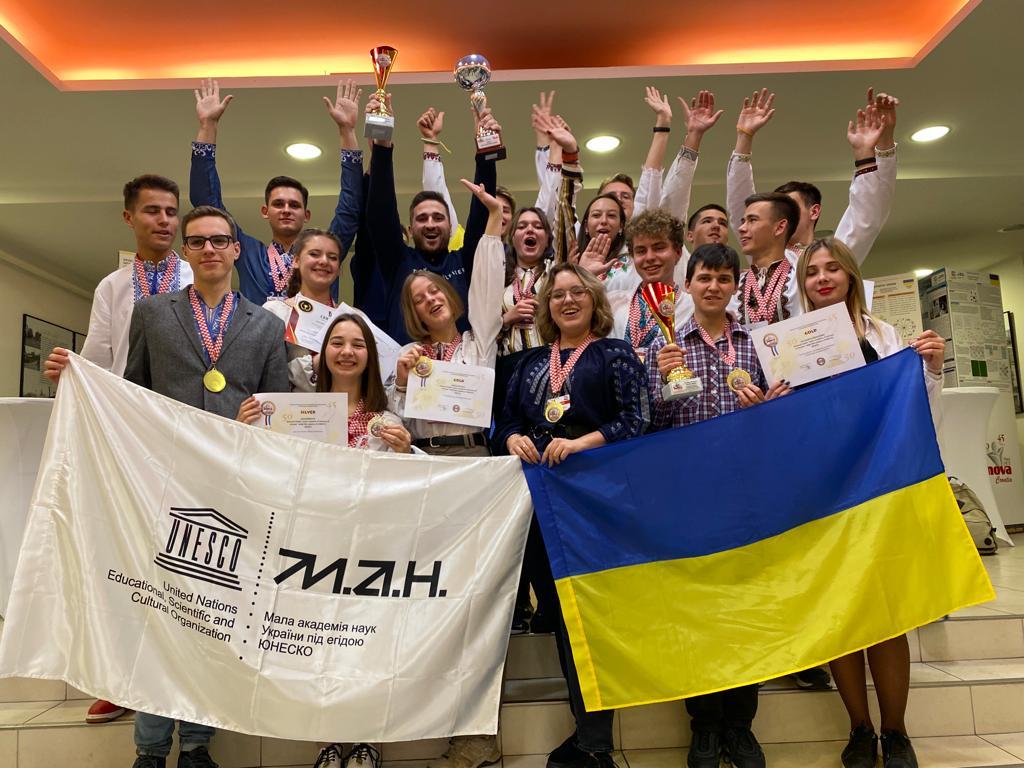 Українські школярі здобули 18 медалей на Міжнародному інноваційному шоу
